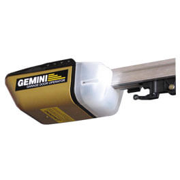 Gemini sectional door motor